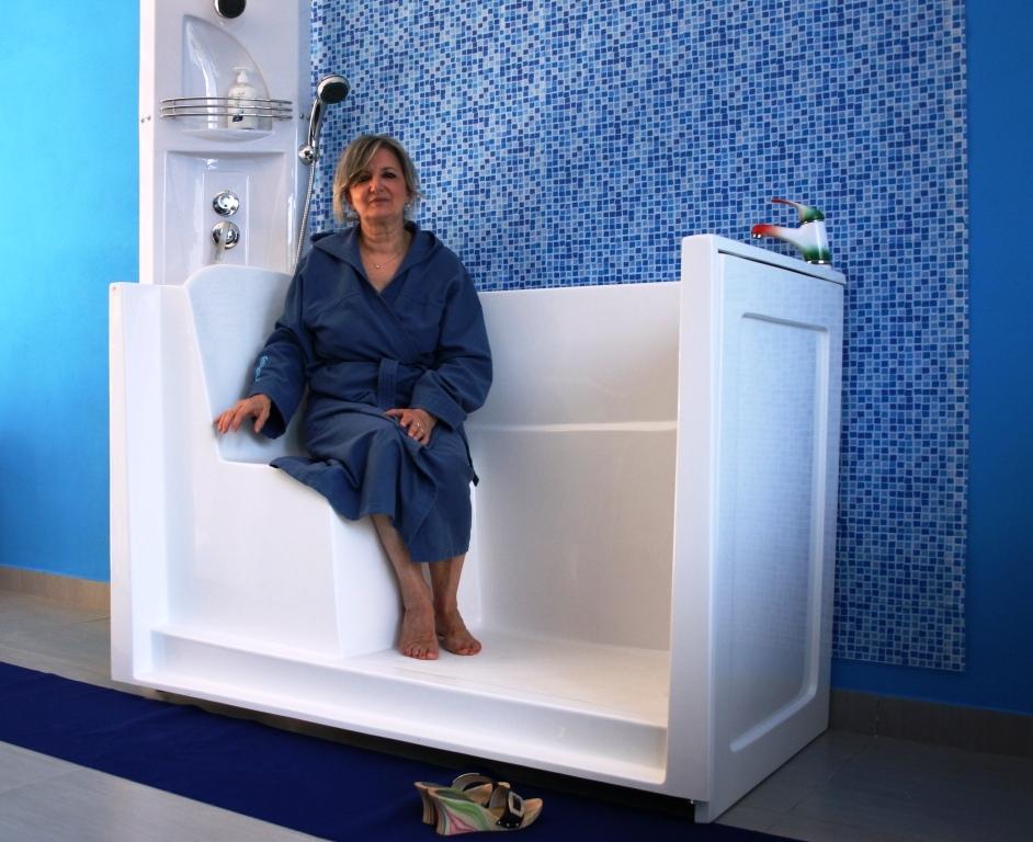 Vasche da bagno con sportello acryltech